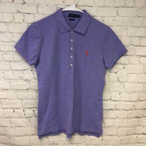 Polo Ralph Lauren Size M Slim Fit Light Purple